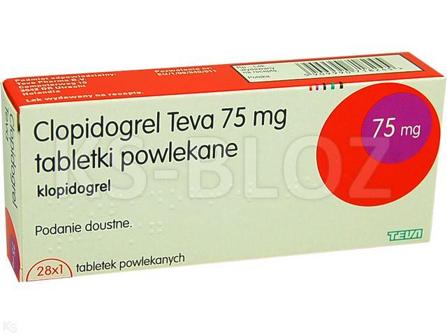 clopidogrel teva pharmaceuticals