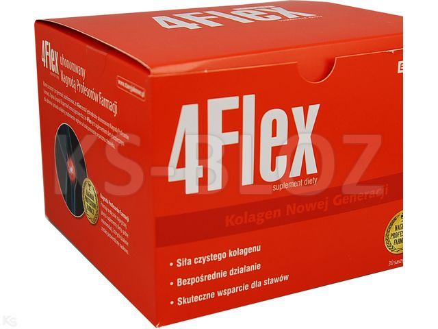 4 Flex interakcje ulotka proszek do sporządzania roztworu doustnego  30 sasz.