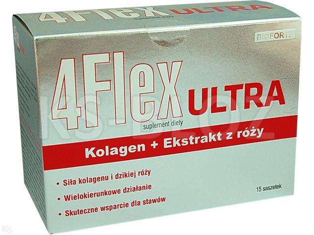 4 Flex Ultra interakcje ulotka proszek do sporządzania roztworu doustnego  15 sasz.