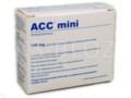 ACC mini interakcje ulotka granulat do sporządzania roztworu doustnego 0,1 g 20 sasz. po 3 g