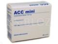ACC mini interakcje ulotka proszek do przygotowania roztworu doustnego 0,1 g 20 sasz. po 3 g