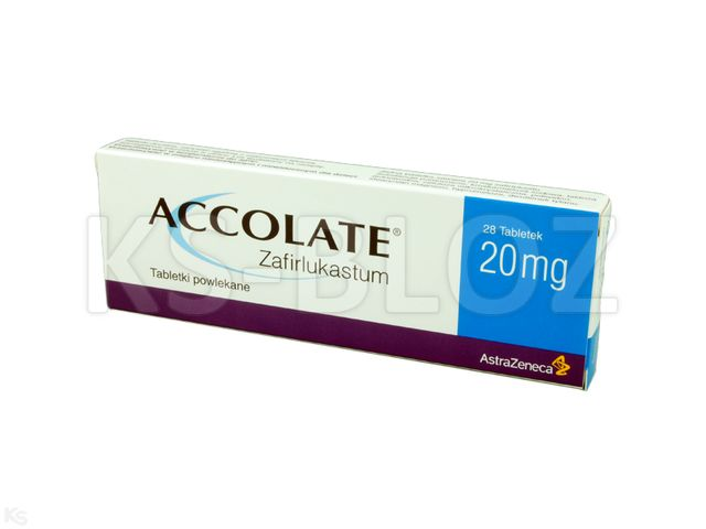 Accolate interakcje ulotka tabletki powlekane 0,02 g 28 tabl.