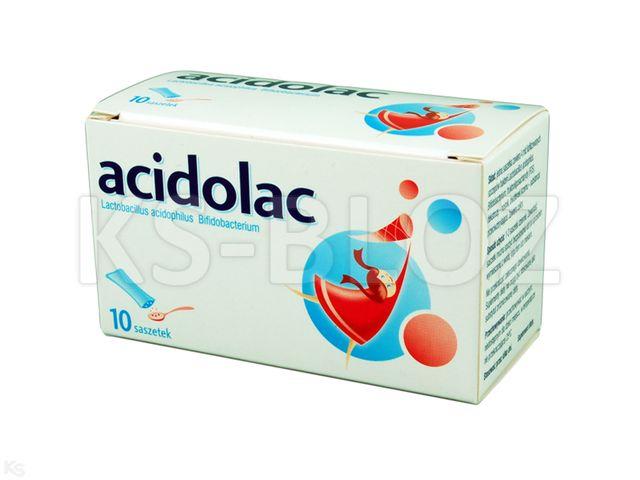 Acidolac interakcje ulotka liofilizat doustny 3 g 10 sasz. po 3 g