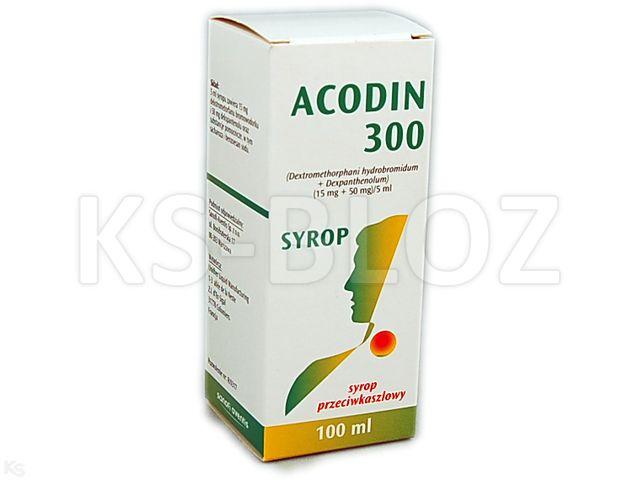 Acodin Duo interakcje ulotka syrop (0,015g+0,05g)/5ml 100 ml