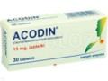 Acodin interakcje ulotka tabletki 0,015 g 30 tabl.