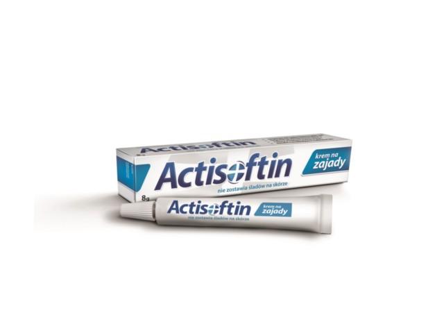 ACTISOFTIN Krem na zajady interakcje ulotka   8 g