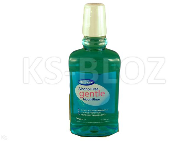 ACTIVE GENTLE BLUE Płyn d/pł.ust bezalkohol. interakcje ulotka   500 ml