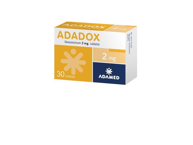 Adadox interakcje ulotka tabletki 2 mg 30 tabl.