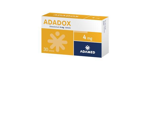 Adadox interakcje ulotka tabletki 4 mg 30 tabl.