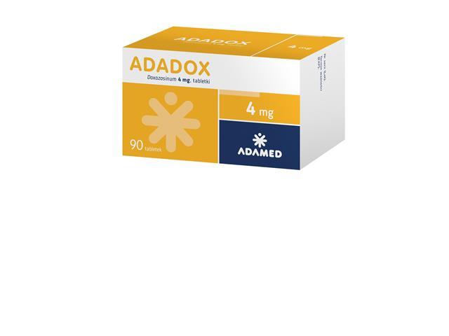 Adadox interakcje ulotka tabletki 4 mg 90 tabl.