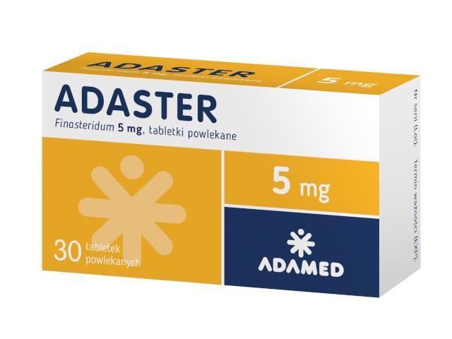 Adaster interakcje ulotka tabletki powlekane 5 mg 30 tabl.