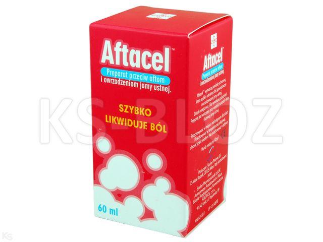 Aftacel Preparat przeciw aftom interakcje ulotka   60 ml
