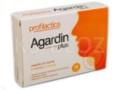 Agardin Plus z miodem i cytrną interakcje ulotka   16 pastyl.