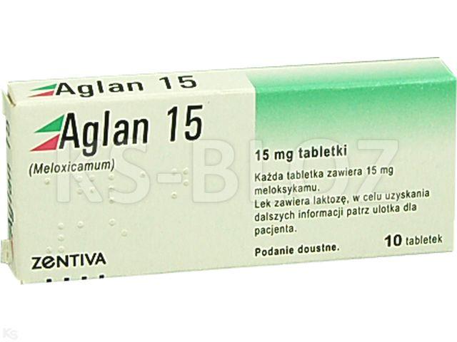 Aglan 15 interakcje ulotka tabletki 0,015 g 10 tabl.