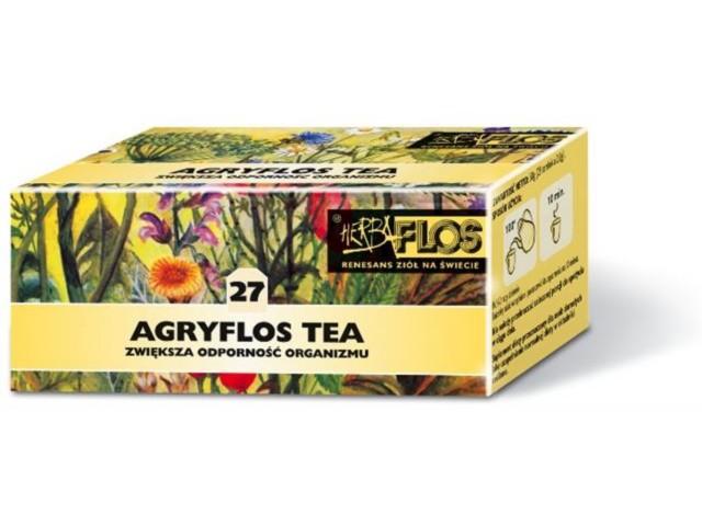 Agryflos tea interakcje ulotka zioła do zaparzania w saszetkach 2 g 25 toreb. po 2 g