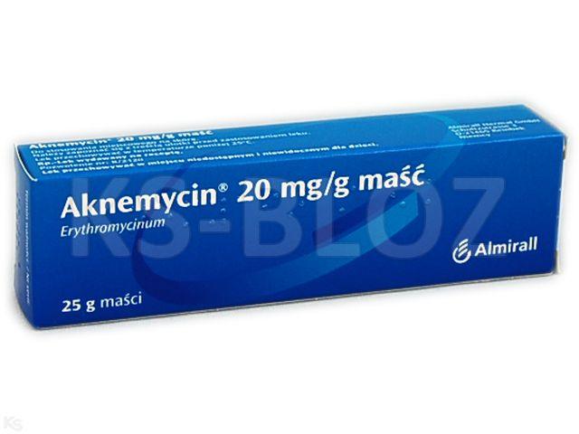 Aknemycin interakcje ulotka maść 0,02 g/g 25 g