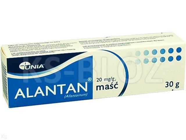 Alantan interakcje ulotka maść 0,02 g/g 30 g