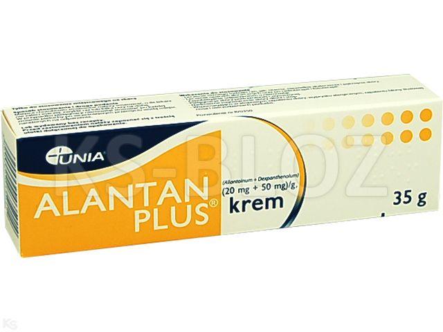 Alantan -Plus interakcje ulotka krem (0,02g+0,05g)/g 35 g