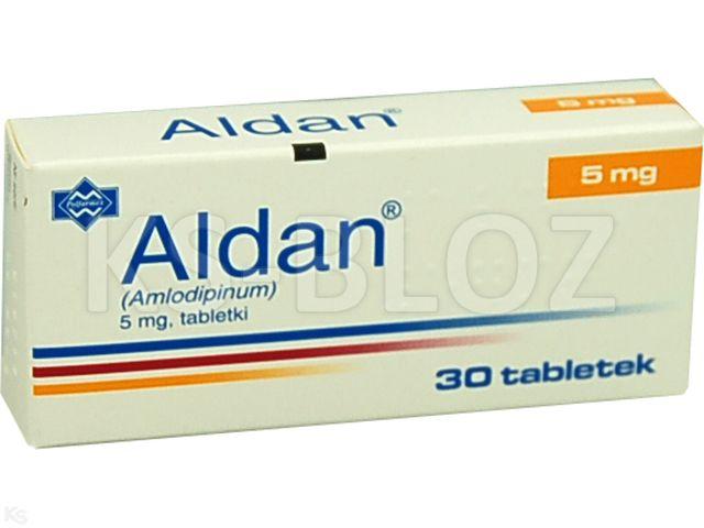 Aldan interakcje ulotka tabletki 5 mg 30 tabl.