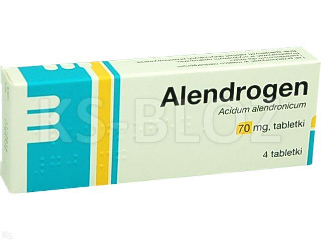 Alendrogen interakcje ulotka tabletki 0,07 g 4 tabl.