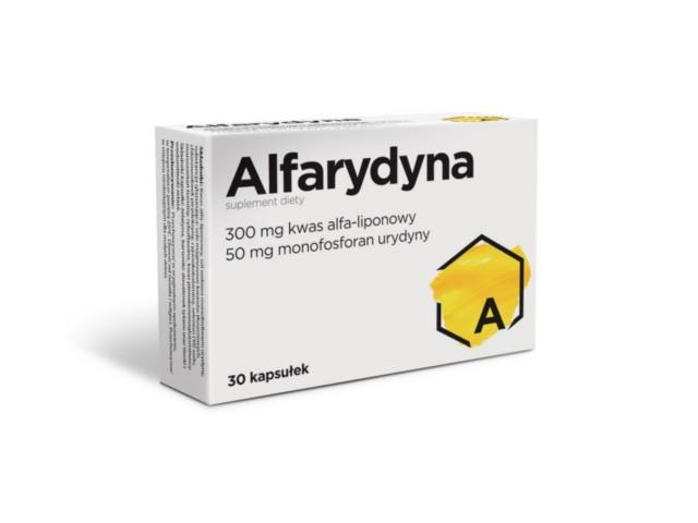 Alfarydyna interakcje ulotka kapsułki  30 kaps.