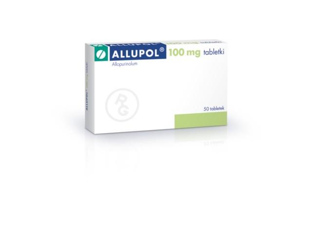 Allupol interakcje ulotka tabletki 0,1 g 50 tabl.