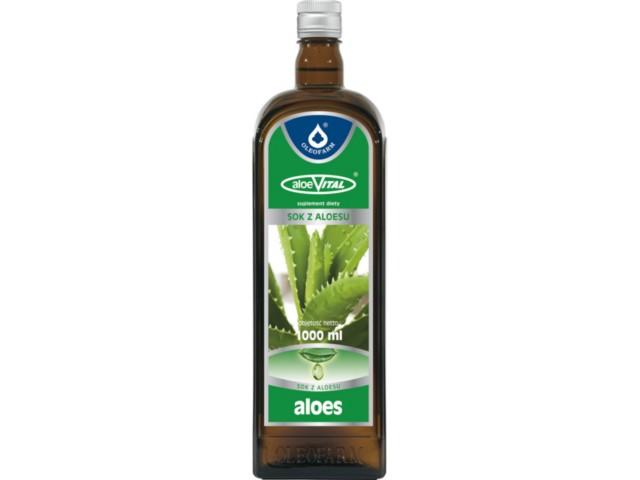 AloeVital sok z aloesu interakcje ulotka płyn  1 l