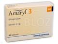Amaryl 3 interakcje ulotka tabletki 3 mg 30 tabl.