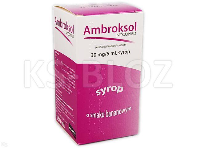 Ambroksol Takeda interakcje ulotka syrop 0,03 g/5ml 150 ml