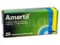 Amertil interakcje ulotka tabletki powlekane 0,01 g 20 tabl.