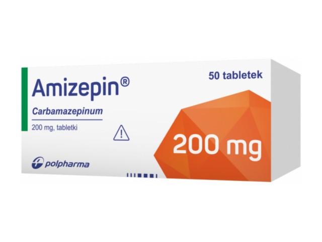 Amizepin interakcje ulotka tabletki 0,2 g 50 tabl.