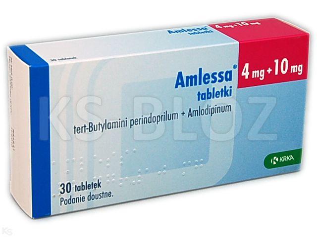 Amlessa interakcje ulotka tabletki 4mg+10mg 30 tabl.