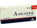 Amlozek interakcje ulotka tabletki 5 mg 30 tabl.