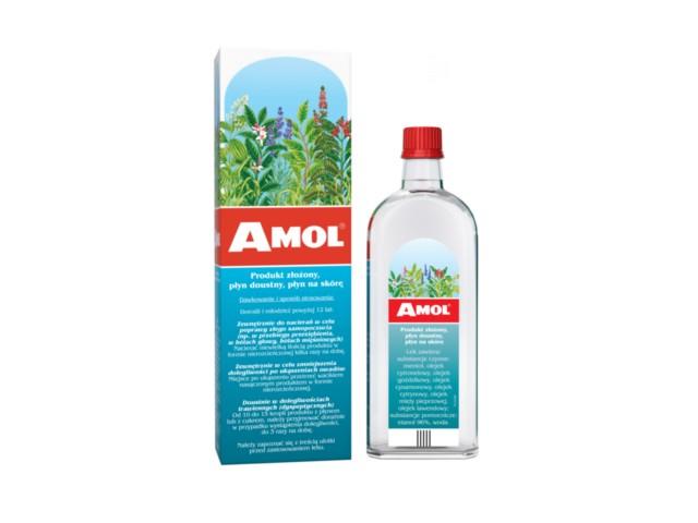 Amol interakcje ulotka płyn doustny, płyn na skórę  250 ml