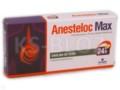 Anesteloc Max interakcje ulotka tabletki dojelitowe 0,02 g 7 tabl.