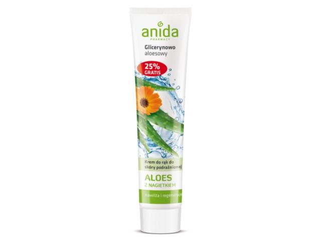 ANIDA Krem d/rąk glicer.-aloes. interakcje ulotka   125 ml