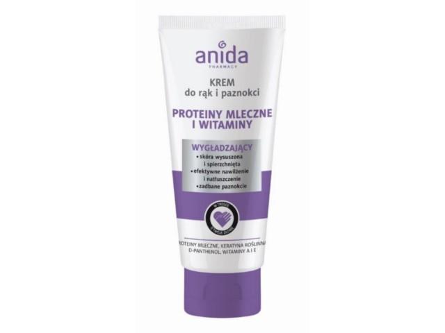 ANIDA Krem d/rąk i pazn.protein.mleczn/witaminy interakcje ulotka   100 ml