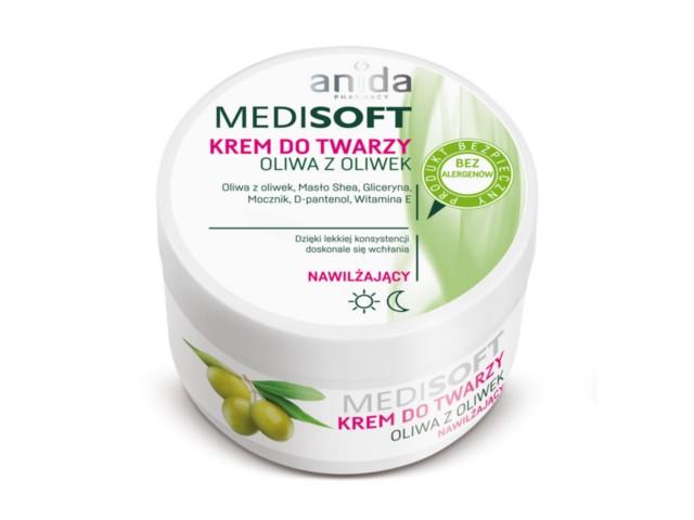ANIDA MEDISOFT Krem nawil.oliwa z oliwek interakcje ulotka   100 ml