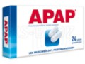 Apap interakcje ulotka tabletki powlekane 0,5 g 24 tabl.