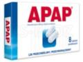 Apap interakcje ulotka tabletki powlekane 0,5 g 8 tabl.