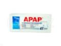 Apap interakcje ulotka tabletki powlekane 0,5 g 2 tabl.