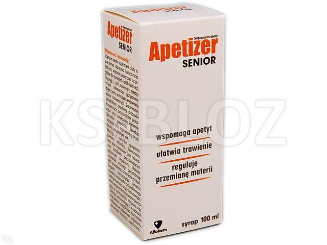 Apetizer Senior Syrop interakcje ulotka   100 ml