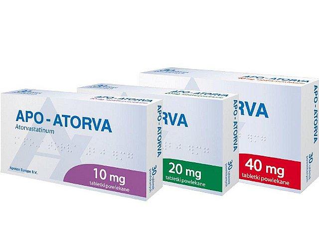 Apo-Atorva interakcje ulotka tabletki powlekane 0,01 g 30 tabl.