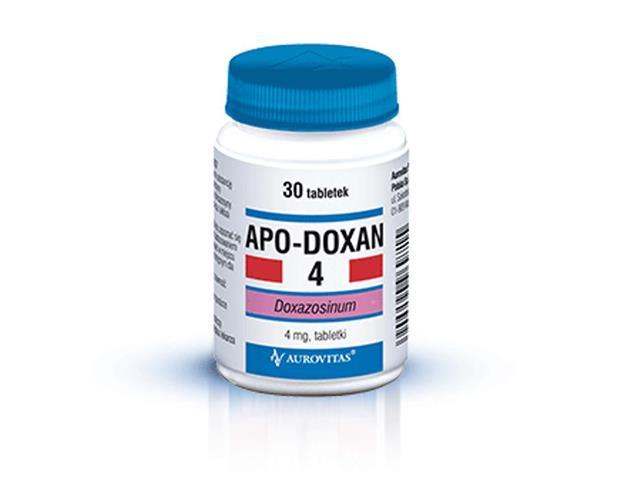 Apo-Doxan 4 interakcje ulotka tabletki 4 mg 30 tabl.