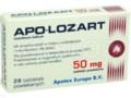 Apo-Lozart interakcje ulotka tabletki powlekane 0,05 g 28 tabl.