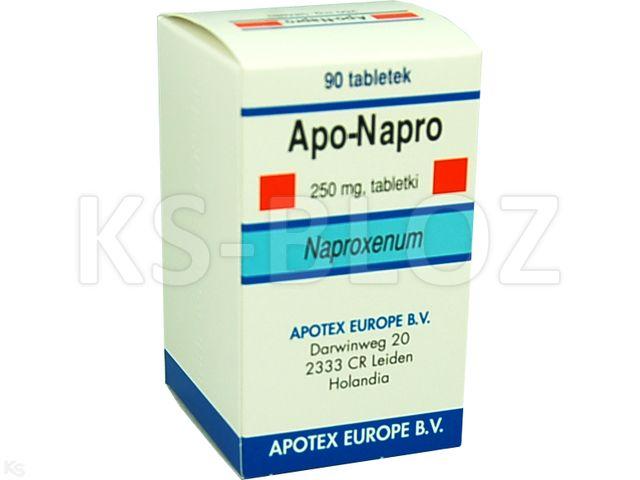 Apo-Napro interakcje ulotka tabletki 0,25 g 90 tabl.