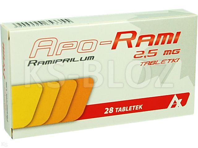 Apo-Rami interakcje ulotka tabletki 2,5 mg 28 tabl.