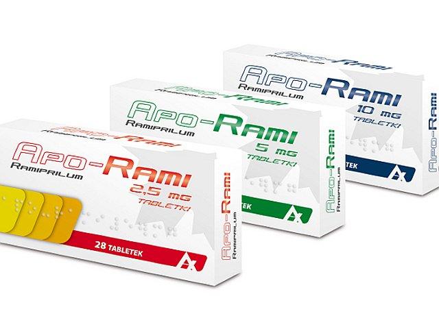 Apo-Rami interakcje ulotka tabletki 5 mg 28 tabl.