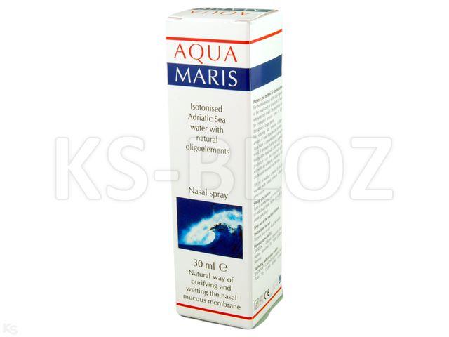 AQUA MARIS Spray d/nosa interakcje ulotka   30 ml