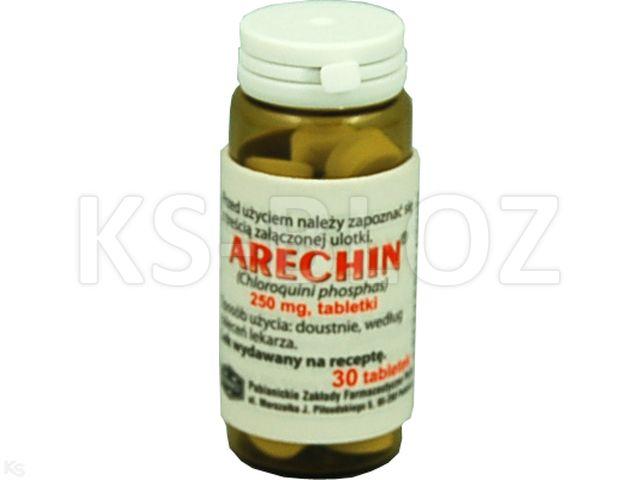 Arechin interakcje ulotka tabletki 0,25 g 30 tabl. | fiol.